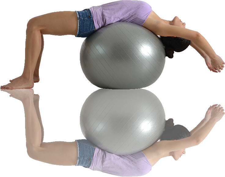 yoga exercise with ball, yoga workout program tips